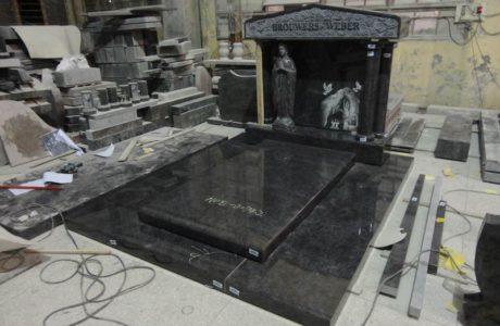 Funérailles Noel - Monument pour tombe